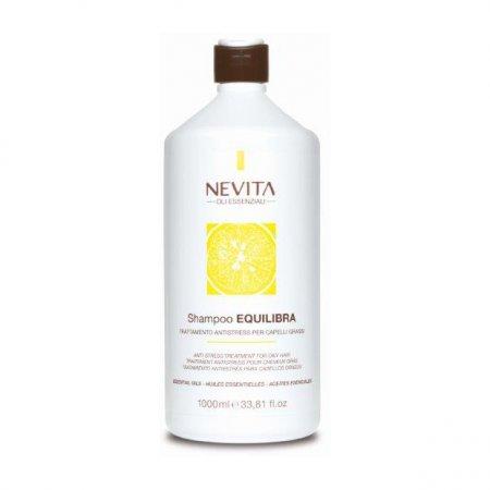 Nevitaly Equilibra, szampon do włosów przetłuszczających się, 1l