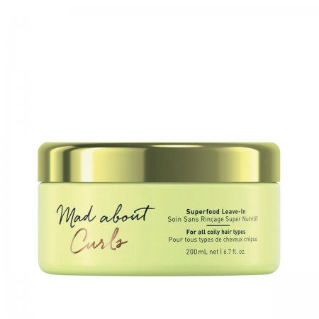 Schwarzkopf Mad About Curls Superfood, maska bez spłukiwania do loków, 200ml