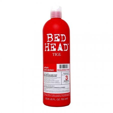 Tigi Bed Head Urban Anti+Dotes Resurrection, szampon do włosów słabych i łamliwych, 750ml