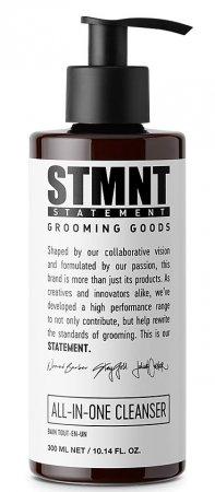 STMNT, wielofunkcyjny szampon do włosów, brody i ciała, 300ml