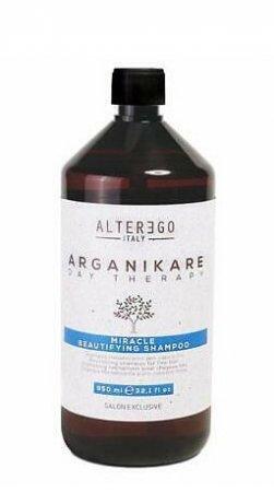 Alter Ego Arganikare Miracle, szampon rewitalizujący do włosów cienkich i delikatnych, 950ml