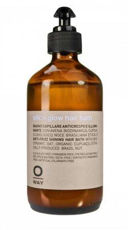 OWay Silk'n Glow, ujarzmiająca kąpiel, szampon do włosów grubych i puszystych, 240ml