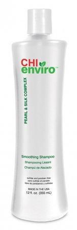 CHI Enviro, wygładzający szampon do włosów, 355ml