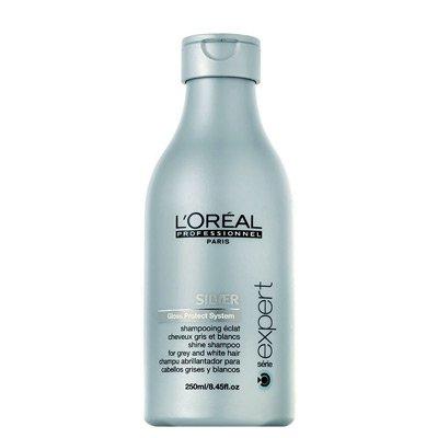 Loreal Silver, szampon do włosów mocno rozjaśnionych lub siwych, 250ml