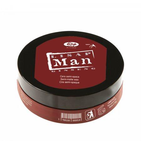 Lisap MAN, wosk półmatowy, 100ml