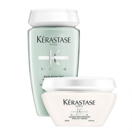 Kerastase Specifique, zestaw odświeżający, szampon + maska, 250ml + 200ml