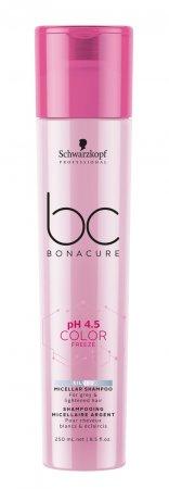 Schwarzkopf BC Color Freeze pH 4.5, micelarny szampon do chłodnych odcieni blond, 250ml