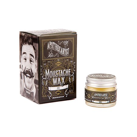 Apothecary87, Firm Hold Moustache Wax, wosk do wąsów, 16g