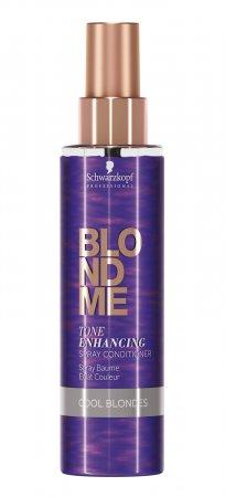 Schwarzkopf BlondMe, odżywka nabłyszczająca w sprayu, Zimny Blond, 150ml