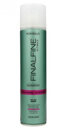 Montibello Finalfine Ultimate, lakier do włosów extra strong, 400ml