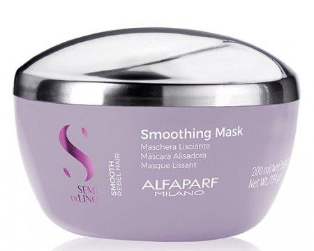 Alfaparf Semi di Lino Smooth, maska dyscyplinująca, 200ml