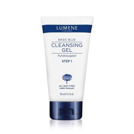 Lumene Basic Blue, żel oczyszczający do twarzy, 150ml