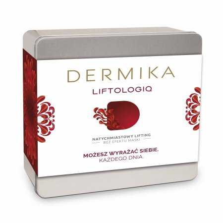 Dermika, zestaw Liftologiq, liftingujący krem 50+ 50ml + maseczka Alabaster 50ml