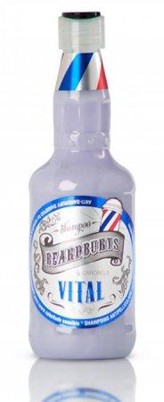 Beardburys Vital, szampon przeciwłupieżowy, 330ml