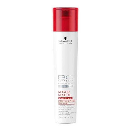 Schwarzkopf BC Repair Rescue, szampon regenerujący włosy zniszczone, 250ml