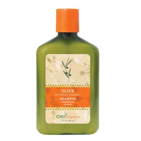 CHI Organics, odżywczy szampon oliwkowy, 355ml