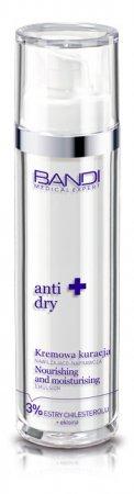 Bandi Medical Expert anti dry, kremowa kuracja nawilżająco-naprawcza, 50ml