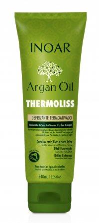 INOAR Argan Oil Thermoliss, termoaktywny balsam wygładzający, 240ml