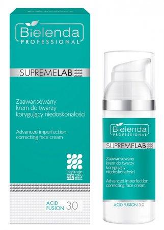 Bielenda Professional Supremelab, Acid Fusion 3.0, zaawansowany krem do twarzy korygujący niedoskonałości, 50ml