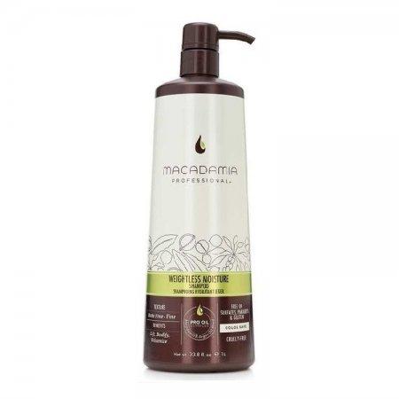 Macadamia Weightless Moisture, nawilżający szampon do włosów cienkich, 500ml