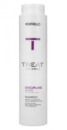 Montibello Treat Naturtech, szampon do włosów puszących się Discipline Shape, 300ml