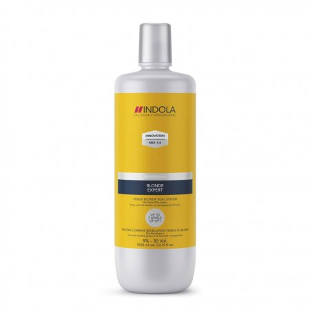Indola Blonde Expert Developer, oksydant 6% 9%, 1000ml