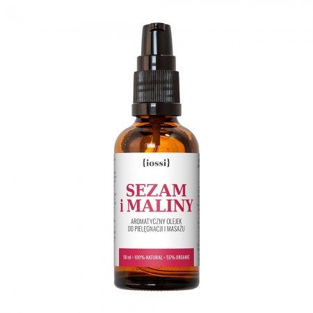 Iossi Sezam i Maliny, olejek przeciw rozstępom, 50ml