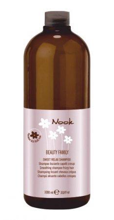 Nook Sweet Relax, szampon wygładzający do niesfornych włosów, 1000ml