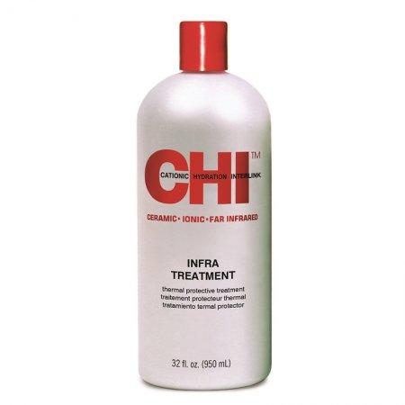 CHI Infra Treatment, zasadowa odżywka do włosów farbowanych, 946ml