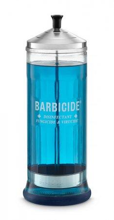 Pojemnik szklany do dezynfekcji Barbicide, 1100ml - przebarwienie