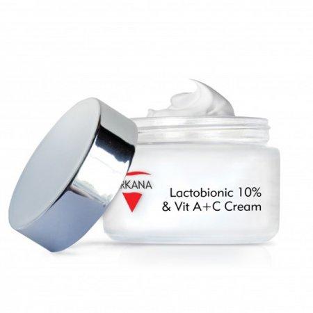 Arkana, krem z kwasem laktobionowym i witaminami A + C, 50ml