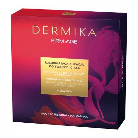 Dermika, Firm Age, zestaw krem na dzień 50ml + serum do ciała 200ml