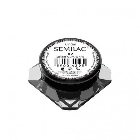 Semilac Spider Gum, żel-guma do zdobienia paznokci, 5g