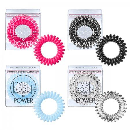 Invisibobble Power, gumki do włosów, 3 szt., różne kolory