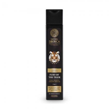 Natura Siberica Fury Of The Tiger, szampon 2w1 do włosów i ciała, 250ml