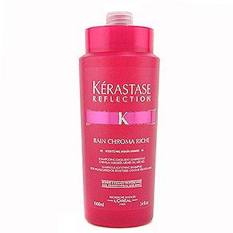 Kerastase Reflection Bain Chroma Riche, szampon, bogata kąpiel rozświetlająca, włosy farbowane i matowe, 1000ml
