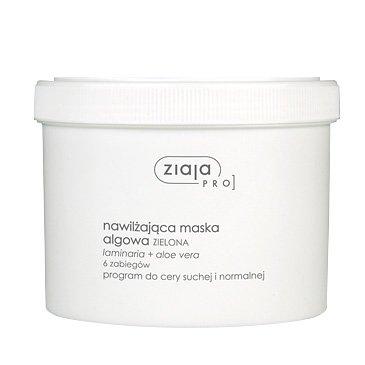 Ziaja Pro, Maska Nawilżająca Algowa, program do cery suchej i normalnej, 155g