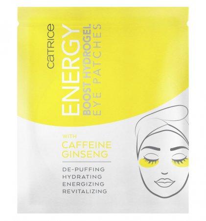 Catrice Energy Boost, hydrożelowe płatki pod oczy, 1para