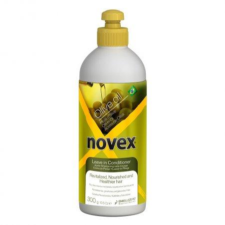 Novex Olive Oil, odżywka bez spłukiwania nawilżająco-wzmacniająca, 300g