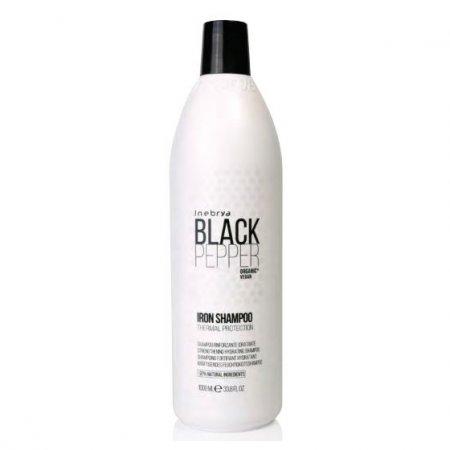Inebrya Black Pepper Iron, szampon regenerujący, 1000ml