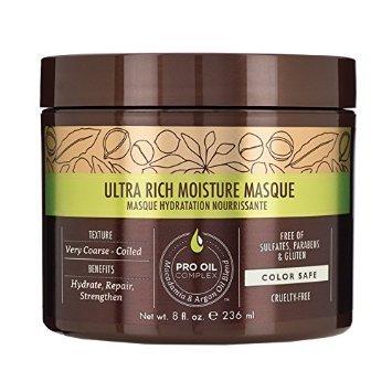 Macadamia Professional Ultra Rich Moisture, głeboko nawilżająca maska do włosów, 236ml