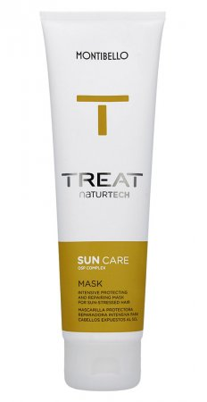 Montibello Treat Naturtech, maska do włosów Sun Care, 150 ml