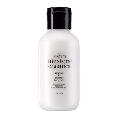 John Masters Organics, Geranium&Grejpfrut, mleczko do ciała, 60ml