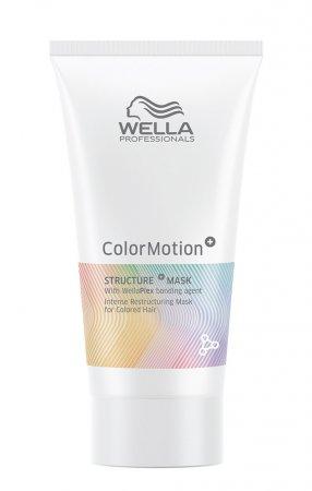 Wella Color Motion, maska wzmacniająca strukturę włosa, 30ml