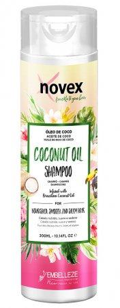 Novex Coconut Oil, szampon nawilżająco-rewitalizujący, 300ml