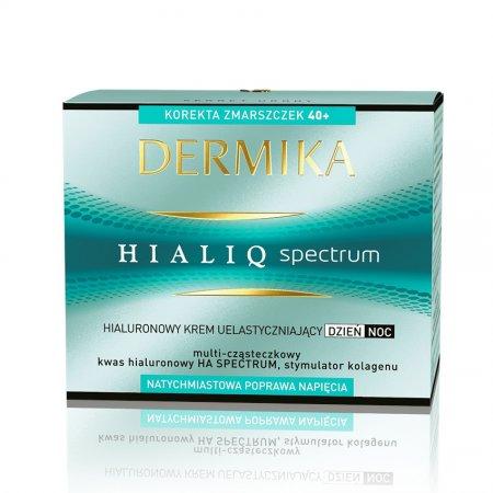 Dermika Hialiq Spectrum, krem uelastyczniający 40+, dzień/noc, 50ml
