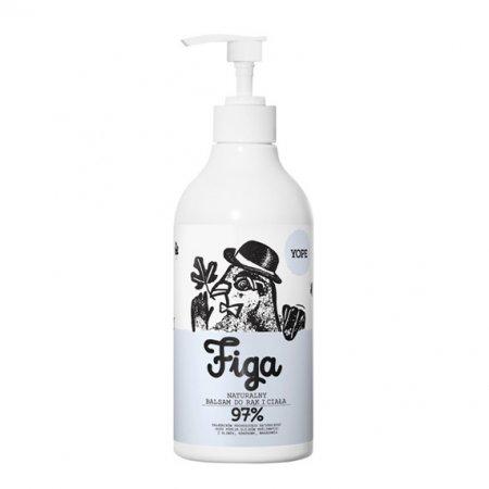 Yope, naturalny balsam do rąk, Figa, 300ml