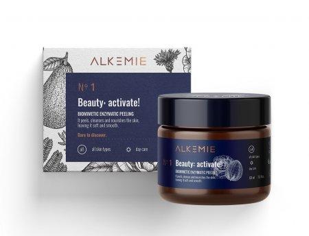 Alkemie Beauty: activate!, biomimetyczny peeling enzymatyczny, 60ml