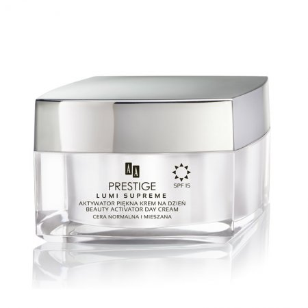 AA Prestige Lumi Supreme, krem na dzień do cery normalnej i mieszanej, aktywator piękna, 50 ml