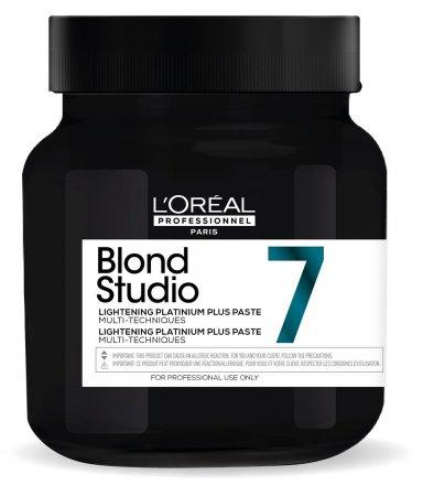 Loreal Blond Studio Platinium Plus, pasta do dekoloryzacji, 500ml